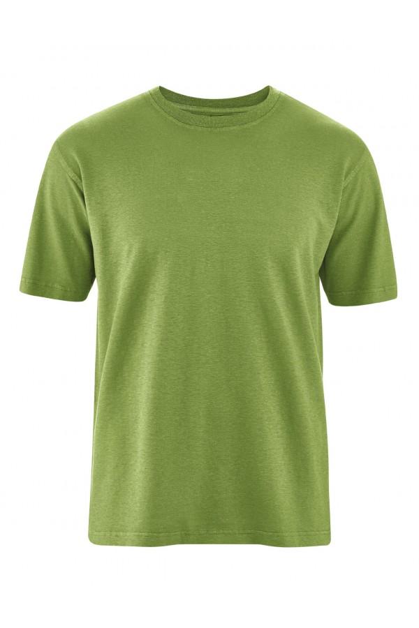 T-shirt basique en chanvre et coton bio