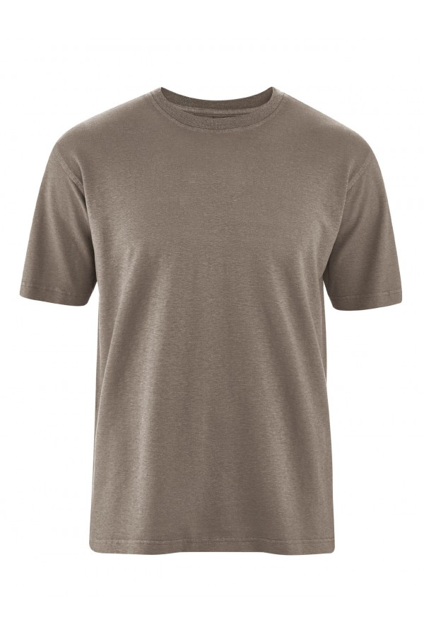 T-shirt classique en chanvre et coton bio
