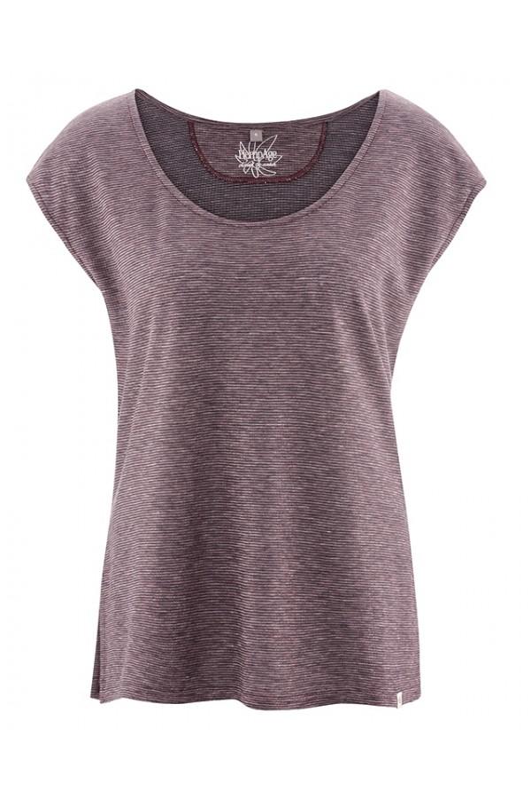 T-shirt manches courtes en coton bio et chanvre